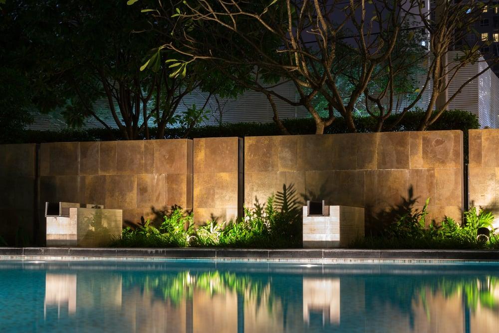 Types of pool landscape lights