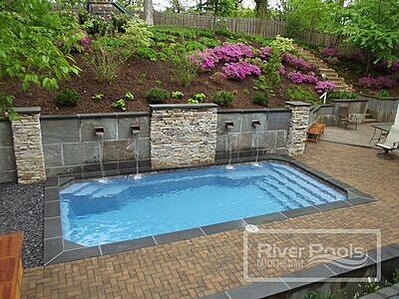 Pool planning guide - swimming pool retaining wall