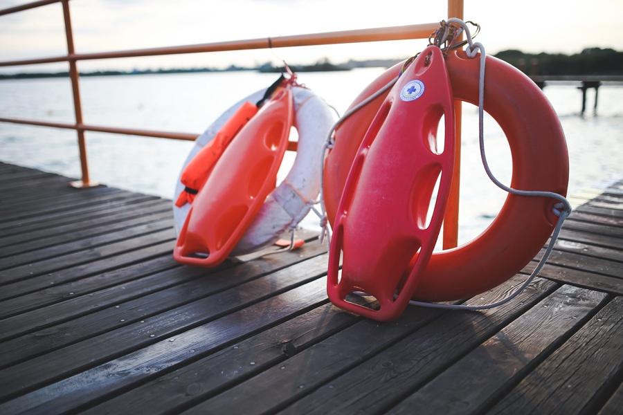 beach dock safety equipment