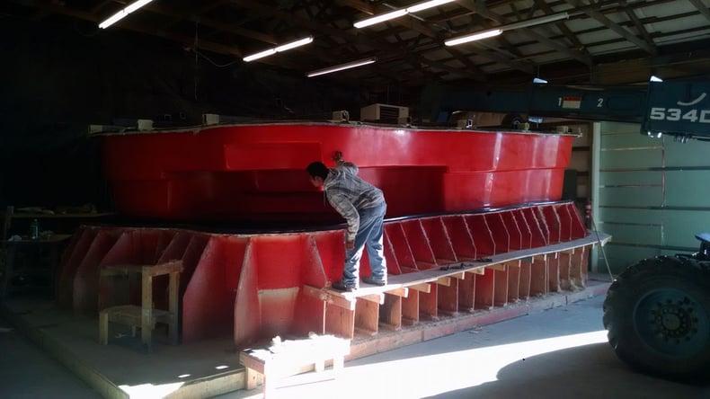 How Are Fiberglass Pool Molds Made