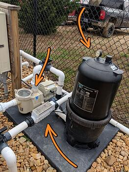 pool filter system (version 2)