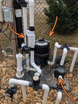 pool filter system (version 1)