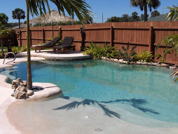 what is a beach entry pool cost designs and more