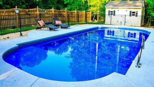 Inground fiberglass pool - 4 things to consider before establishing your pool budget